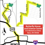 Map of detour directions for 2017